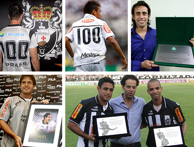 MONTAGEM 100 jogos - Fernando prass neymar valdivia fahel werley diego tardelli