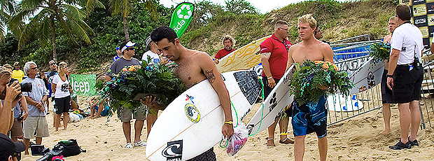 surfe Roy Powers tributo Andy Irons