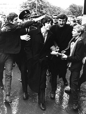 Paul McCartney na final da Copa do Mundo de 1968