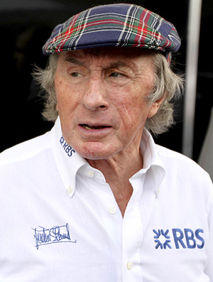 Jackie Stewart Interlagos paddock GP do Brasil Interlagos