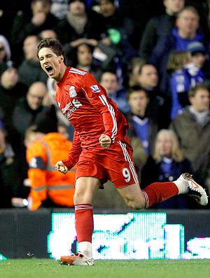 Fernando Torres Liverpool Comemoração Chelsea