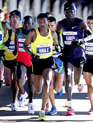 Haile Gebrselassie maratona de nova york