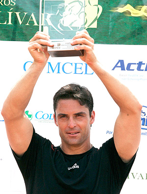 Daniel troféu Sebastian Cabal Simon Bolivar Open 2010