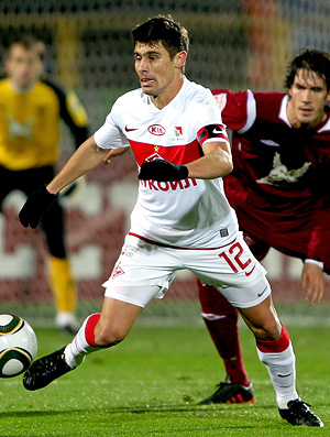 alex, Spartak x Rubin Kazan (Foto: Getty Images)