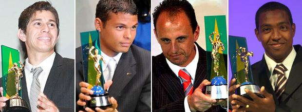 Craque do Brasileirão Conca Thiago Silva Rogério Ceni Renato