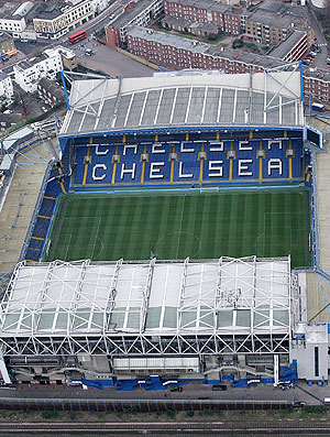 vista do Stamford Bridge estádio do Chelsea (Foto: Getty Images)