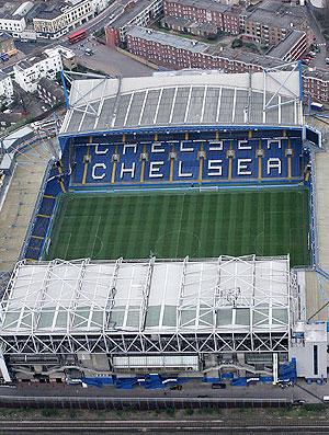 vista do Stamford Bridge estádio do Chelsea (Foto: Getty Images)