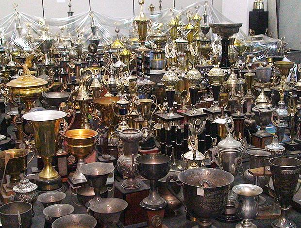 taças troféus Museu Flamengo