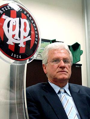 Marcos Malucelli presidente do Atlético-PR