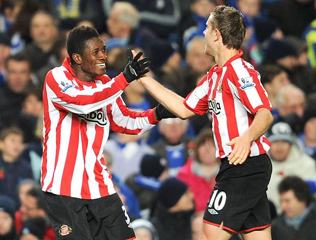 Asamoah Gyan gol Sunderland