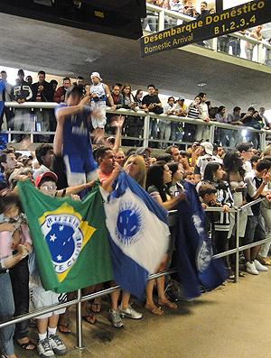 Torcedores Cruzeiro Aeroporto