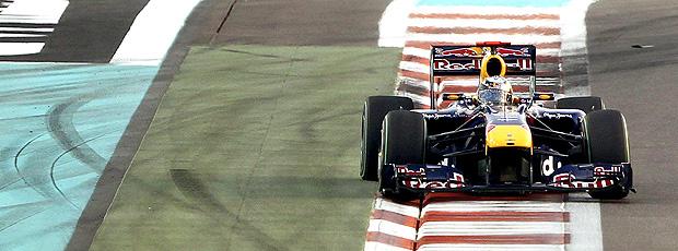sebastian Vettel RBR do gp de Abu Dhabi