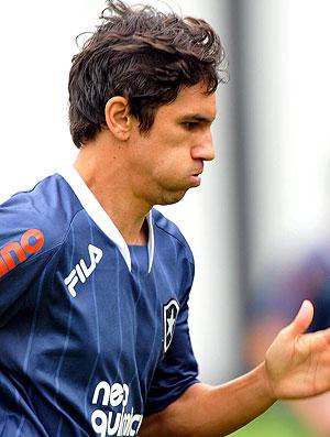 Lucio Flavio no treino do Botafogo