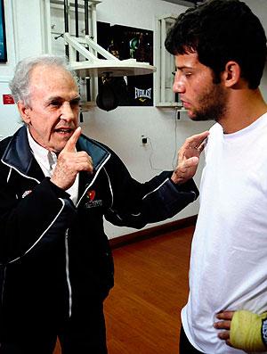 Eder Jofre Michael Oliveira boxe São Paulo
