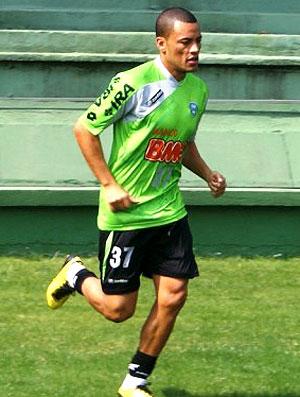 Leo Gago no treino do Coritiba (Foto: Divulgação / Site Oficial do Coritiba)