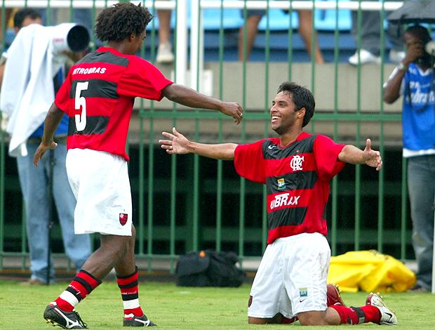Diogo Silva Ibson Flamengo x Cruzeiro 2004