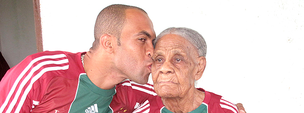 Leandro Euzebio avó (Foto: Cahê Mota / Globoesporte.com)