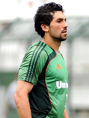 Ricardo Berna no treino do Fluminense (Foto: Agência Photocâmera)