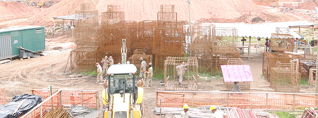 obras Estádio Independência