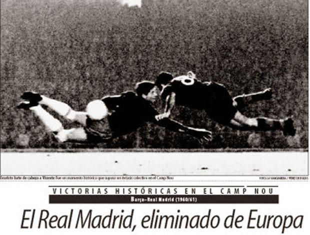 Resultado de imagem para gol do Evaristo contra o Real Madrid