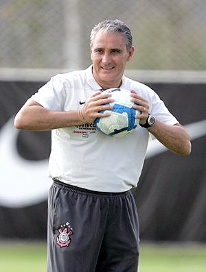 Tite treino Corinthians