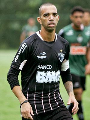 Diego Tardelli no treino do Atlético-MG