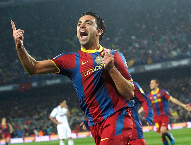 Xavi gol Barcelona