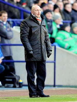 Ian Holloway Bolton Wanderers x Blackpool 27/11