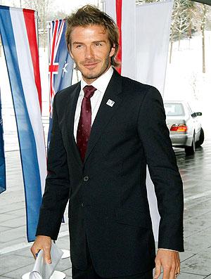 Beckham na candidatura da Copa
