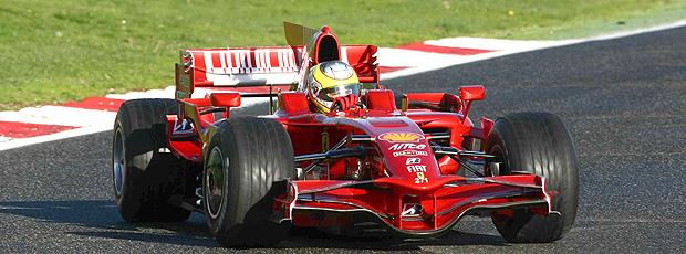 Cesar Ramos piloto Ferrari (Foto: Divulgação)