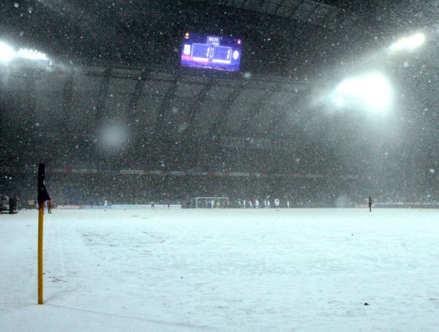 Felipe Melo commenta lo stadio del Lech Poznan