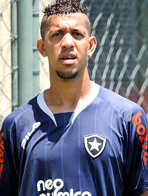 Antônio Carlos e Somália no treino do Botafogo