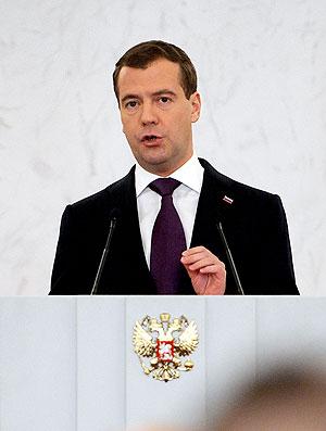Dmitri Medvedev, presidente da Rússia