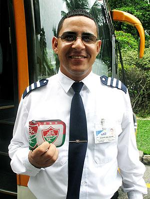 Rogério Malaquias, motorista do Fluminense