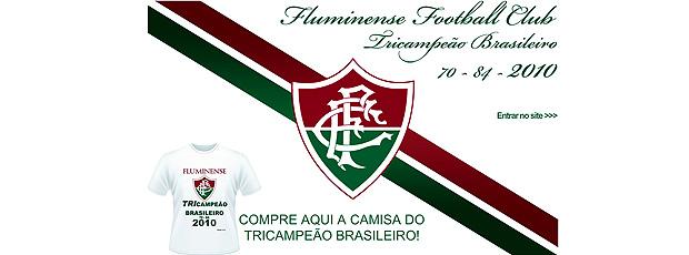 reprodução site fluminense venda camisa campeão brasileiro 2010