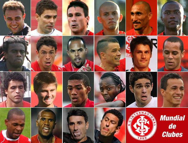 22 jogadores Internacional Muldial