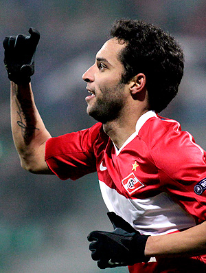 ibson spartak moscou gol zilina (Foto: agência Reuters)