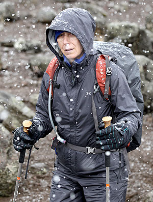 Martina Navratilova desiste de escalar o Monte Kilimanjaro