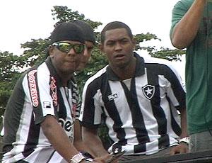 Jobson numa carreata em Conceição do Araguaia