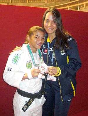 Sarah Menezes e Rosicléia Campos Grand Slam de judô Tóquio