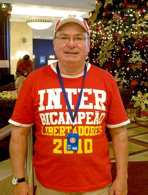 Internacional Mundial de Clubes Abu Dhabi - Gelson Pires, diretor do Inter