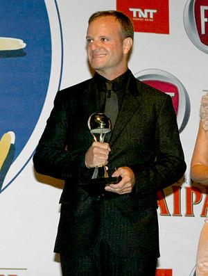 Capacete de Ouro - Rubens Barrichello e Bel Reis