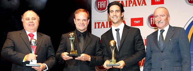 Capacete de Ouro - Rubens Barrichello e Lucas Di Grassi