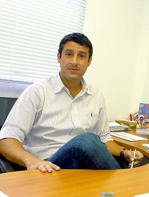 Márcio Bittencourt, empresário do futebol