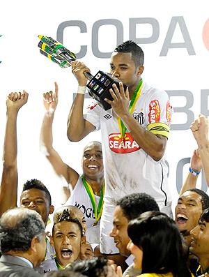 Robinho Santos Copa do Brasil (Foto: Marcos Ribolli / Globoesporte.com)