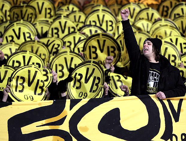 Borussia Dortmund comemoração (Foto: Getty Images)