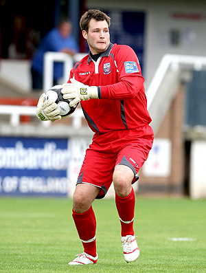 Dale Roberts goleiro do Rushden & Diamonds