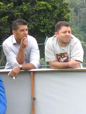 Treino seleção brasileira Sub-20 - Sidnei Lobo e Rafael Vieira (Foto: Marcio Iannacca / Globoesporte.com)