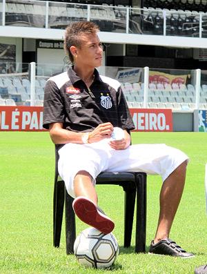 Neymar jogador do Santos - especial