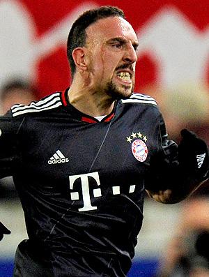 Franck Ribery bayern de munique gol stuttgart (Foto: agência AFP)